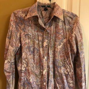 Petite ladies Ralph Lauren shirt